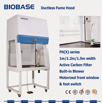Tủ hút khí độc dùng cho bệnh viện và dược phẩm, trung tâm R & D