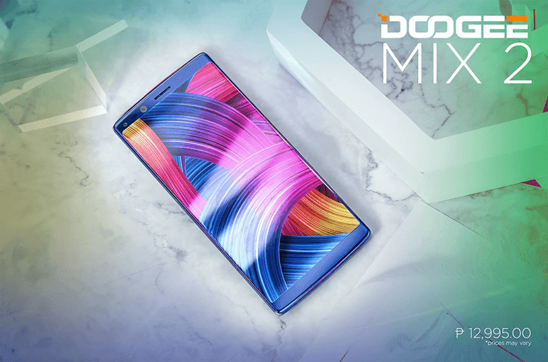 Doogee Mix 2 now in PH, Bezel-less for PHP 12,995