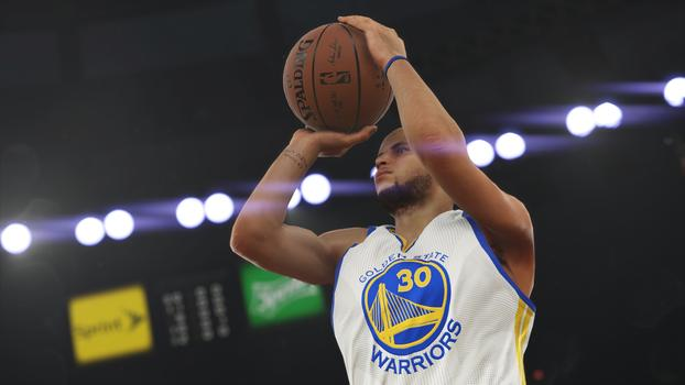 Steph Curry NBA 2K15 Screenshot