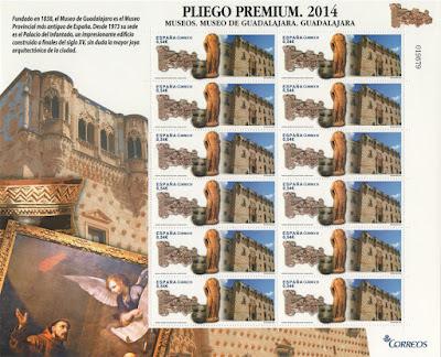 Pliego Premium del Museo Provincial de Guadalajara