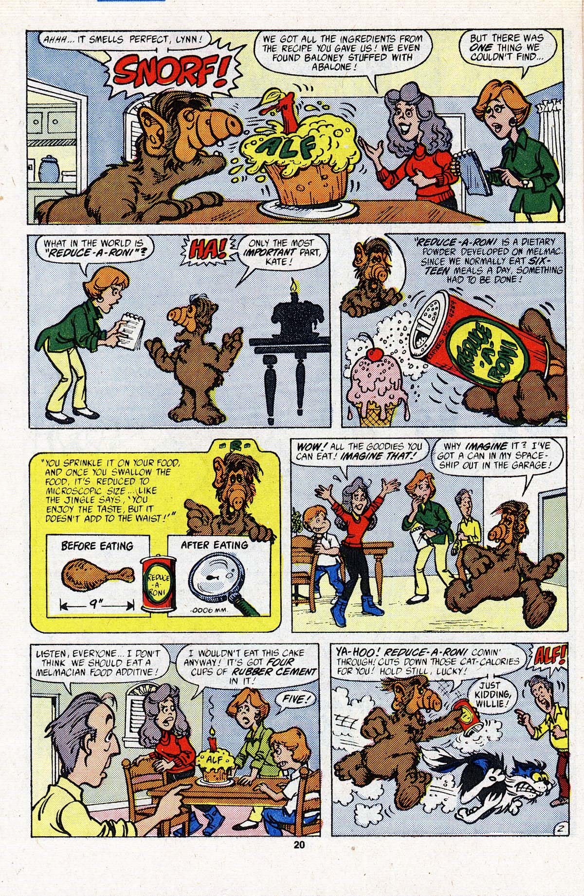 Read online ALF comic -  Issue #3 - 17