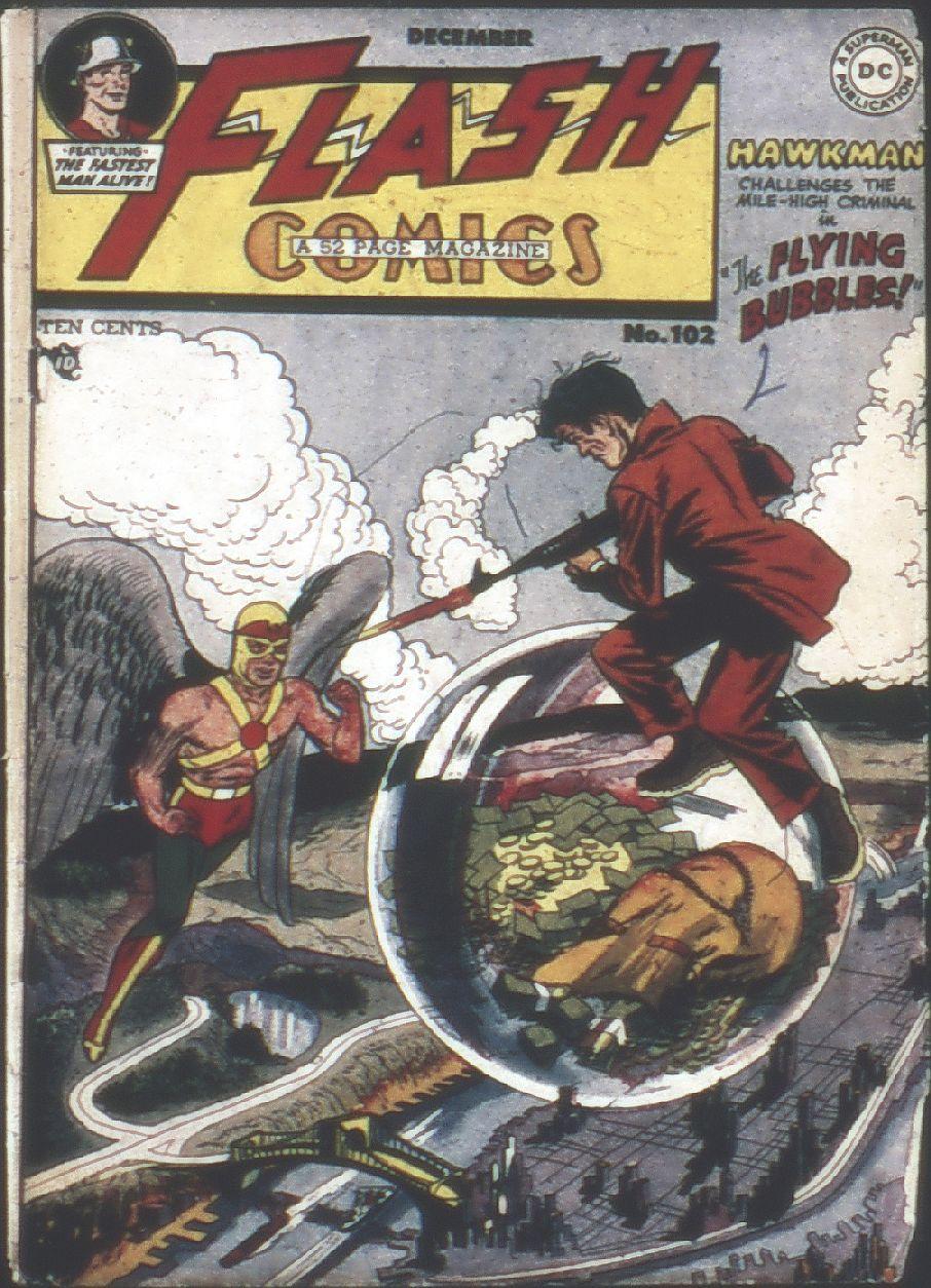 Flash Comics 102 Page 1