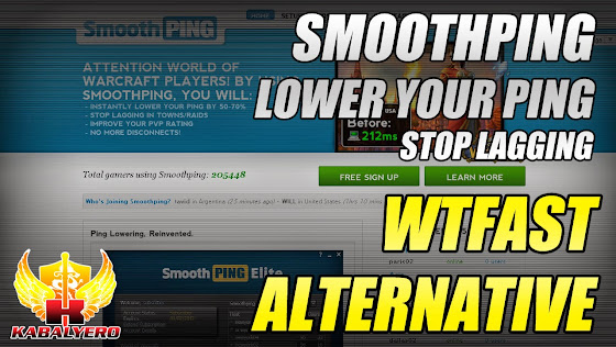 WTFast Alternative - Smoothping, Lower Your Ping & Stop Lagging