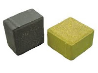 Paving block model tahu