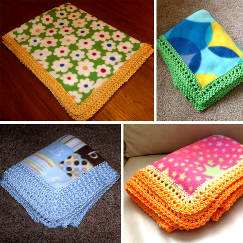 Edge for Fleece Baby Blanket - Unisex Style