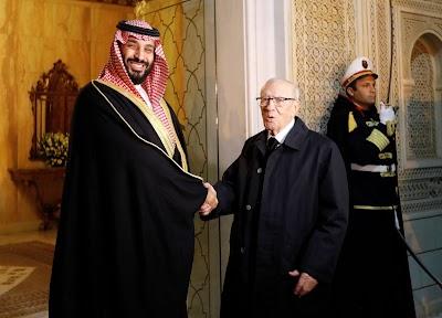 ولي العهد السعودي يغادر تونس بعد ساعات فقط من ووصوله ...