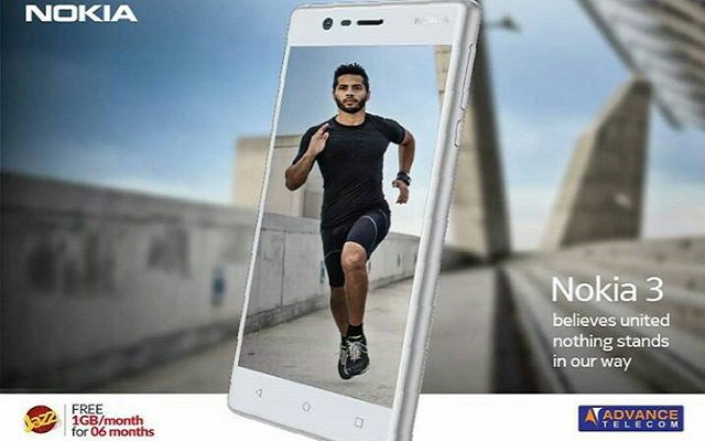 Jazz brings Free Internet for Six Months with Every Purchase of Nokia 3