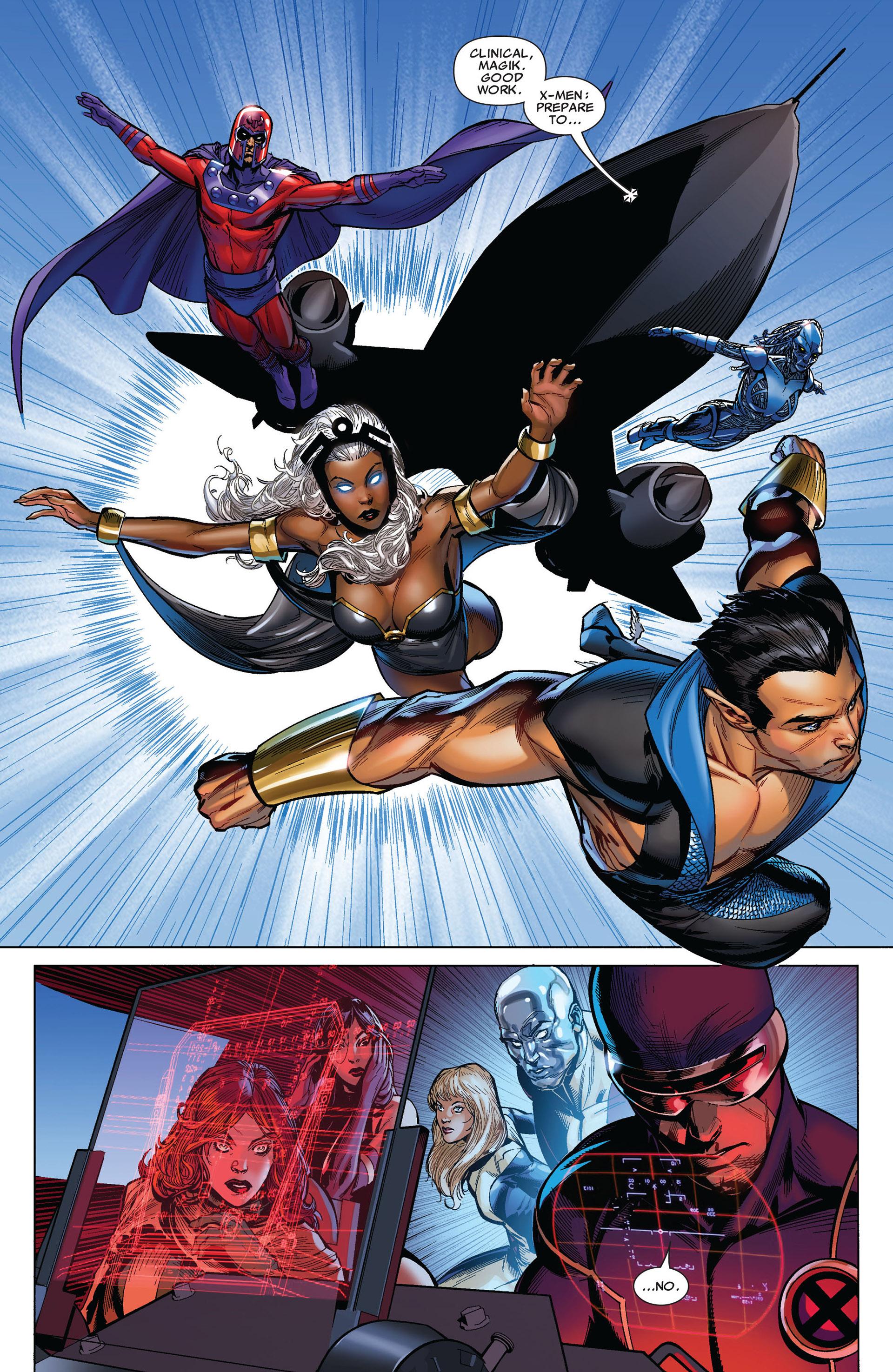 Read online Uncanny X-Men (2012) comic -  Issue #4 - 13