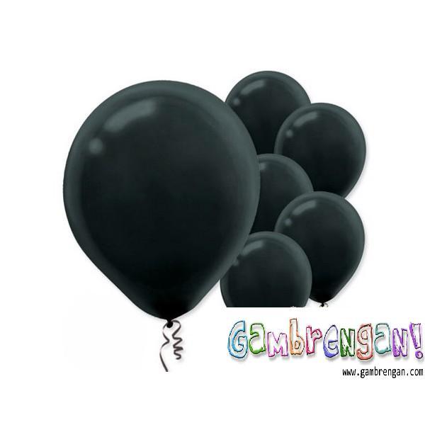 Balon dekorasi Hitam