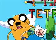 Jogo Hora de Aventura Tetris Online Gratis