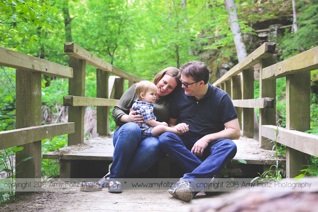 Turkey Run State Park family photo session