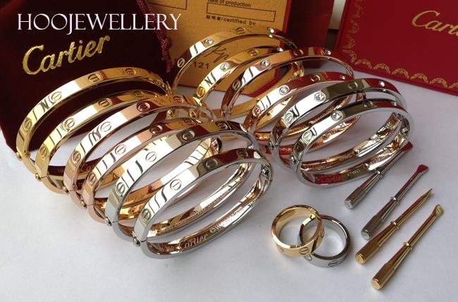 Cartier Love Bracelet Silver