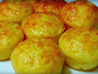 Magdalenas de queso