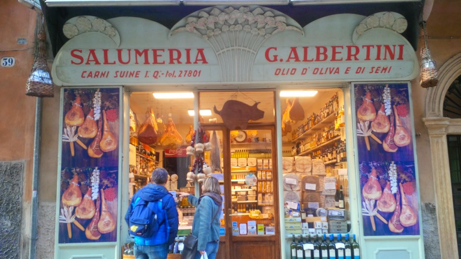 A local deli in Verona