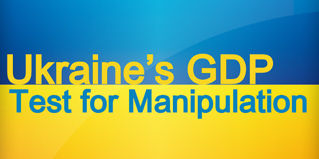 Ukraine's GDP: Test for Manipulation