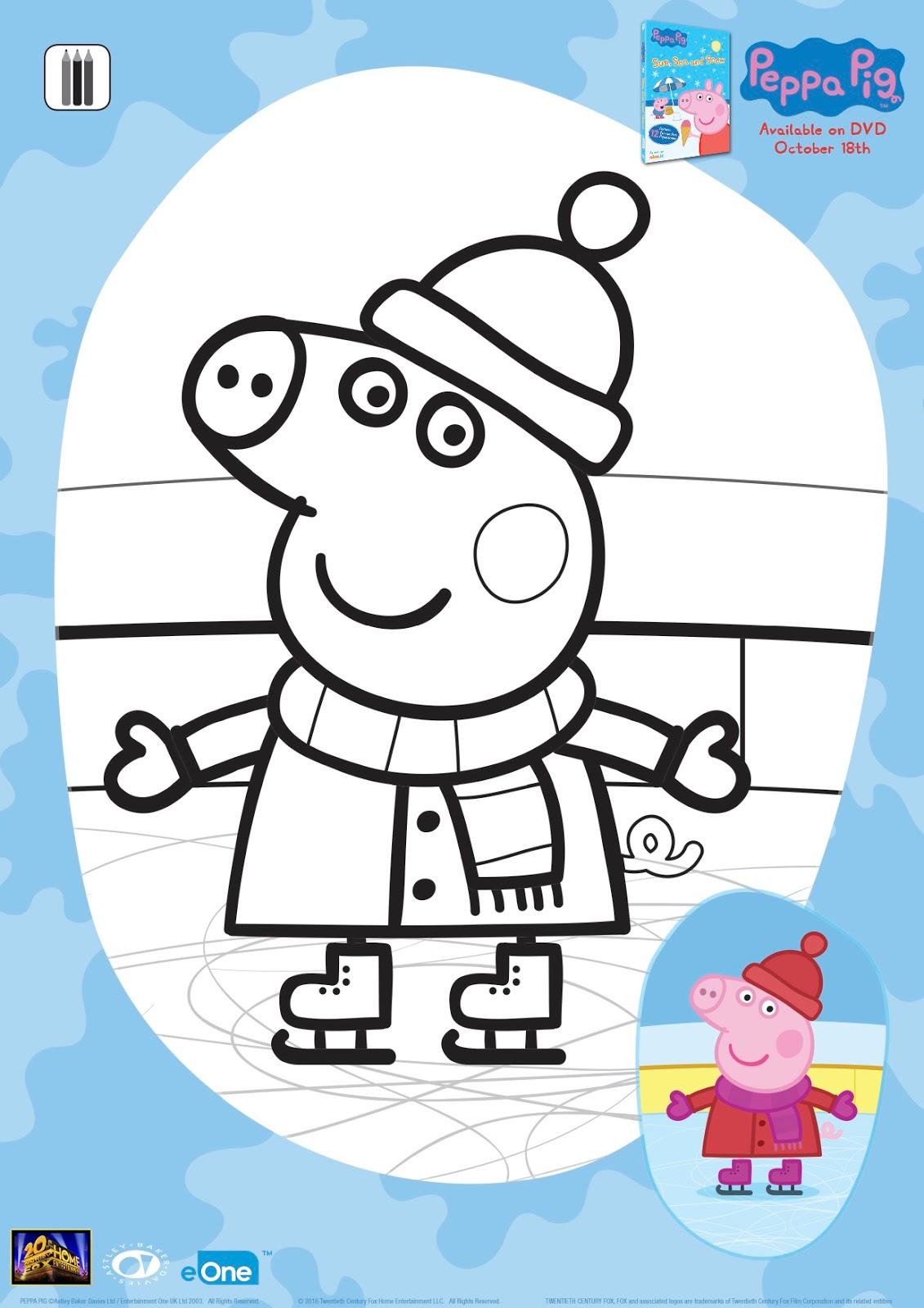 New Age Mama Peppa Pig Sun Sea Amp Snow Dvd Giveaway