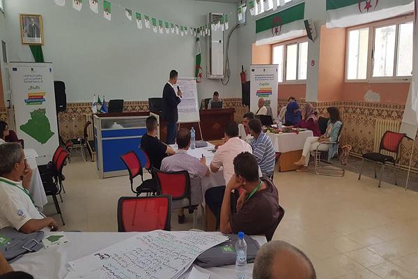 إختتام أول دورة تكوينية في الحكامة التشاركية المحلية على مستوى البلديات النموذجية بالشلف