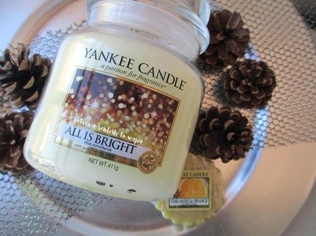 Velas Yankee Candle de edición especial navideña