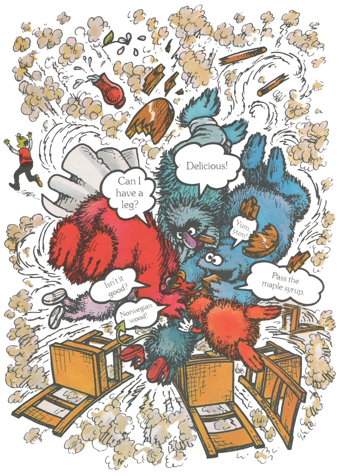 Googoogallery The Sesame Street 123 Story Book