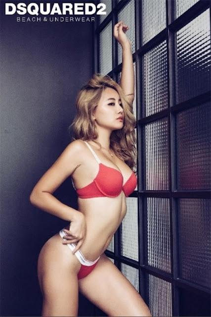 Hot girls Jung Yeon Hyeon sexy korean model butt 93cm 7