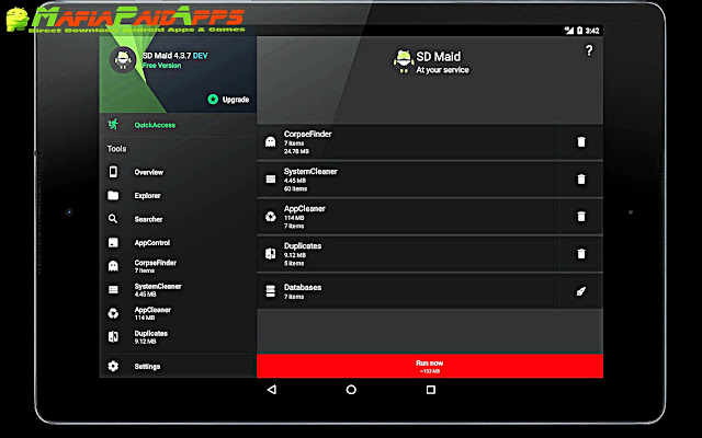 SD Maid - System Cleaning Tool Pro Apk MafiaPaidApps