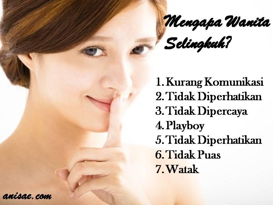 7 alasan istri selingkuh anisa ae