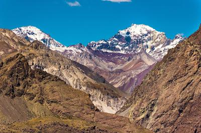 Cajón del Maipo - Cerro Manchado y Cerro Castillo