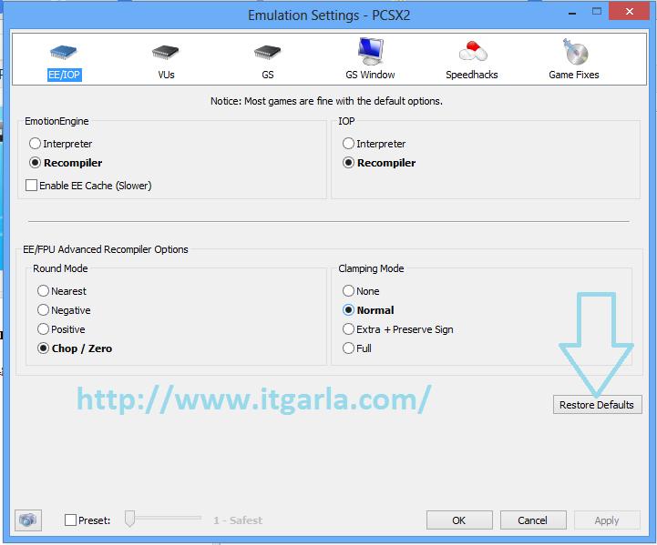 Cara Memakai PCSX2 di laptop atau PC biar Tidak Lemot ~ IT Garla