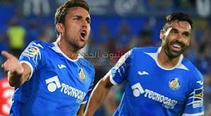 نادي خيتافي يحقق الفوز على فريق غرناطة بثلاث اهداف لهدف ويمنعه من تصدر الدوري الاسباني