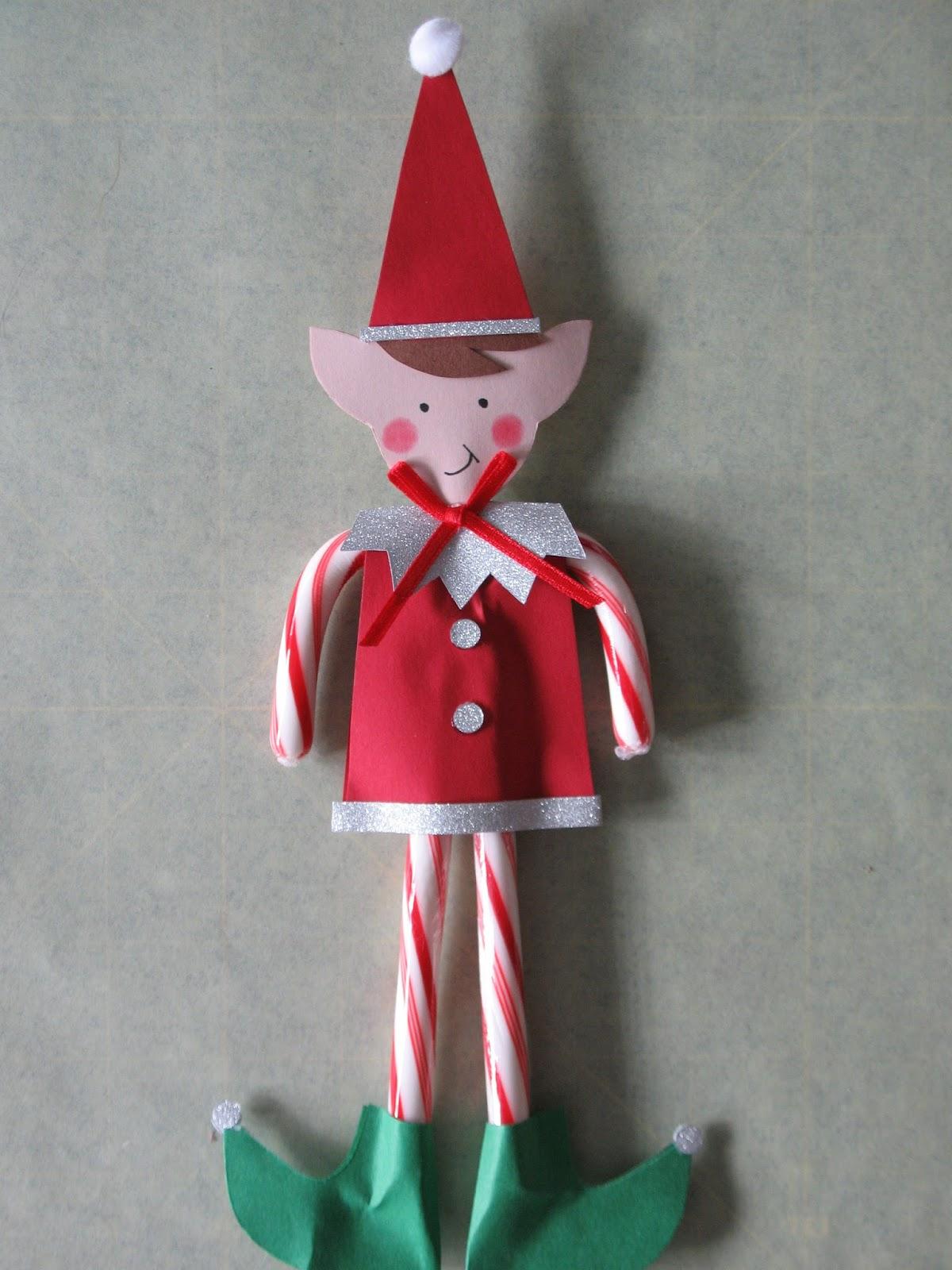 Artsy Fartsy Candy Cane Elves