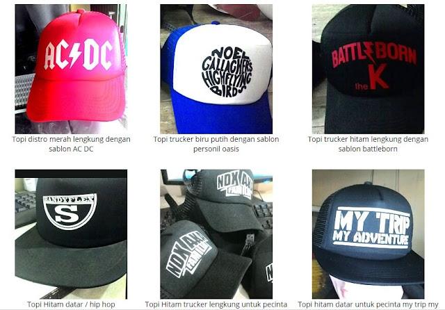 Topi Satuan Custom