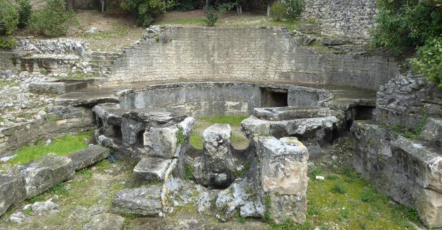 Dipòsit de distribució o castellum