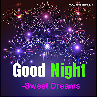 "Good Night wishes image contains "" NIGHT "" text in Green Color"