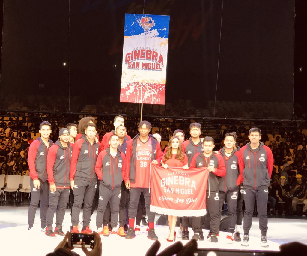 303db0bffb2 The Muses at the PBA Opening Ceremony. Klea Pineda (Alaska Aces)