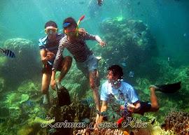 snorkeling pulau kecil karimun jawa