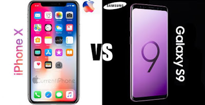 iphone x vs s9 plus