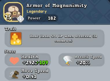Armor: Armor of Magnanimity