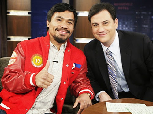 Jimmy Kimmel's message to Pacquiao after the battle of century
