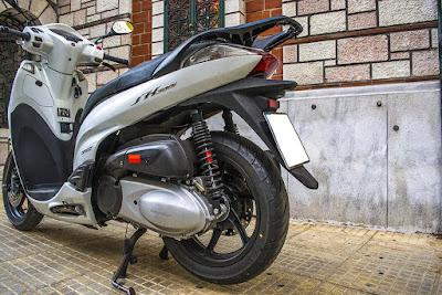 Πίσω Ανάρτηση WMB της Bitubo για Honda SH 300
