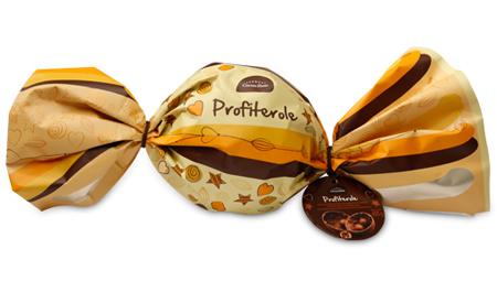 Cacau Show ovos de pascoa trufa de chocolate gigante Profiterole
