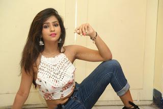 Deekshita Parvathi in a short crop top and Denim Jeans Spicy Pics Beautiful Actress Deekshita Parvathi January 2017 CelebxNext (169).JPG