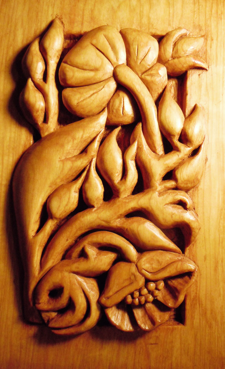 Sealing basswood carvings hingst s sign post