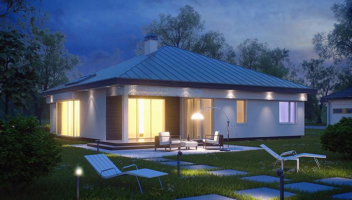 Mẫu thiết kế kiến tr biệt thự nghỉ dưỡng nhà vườn 132m2- 3