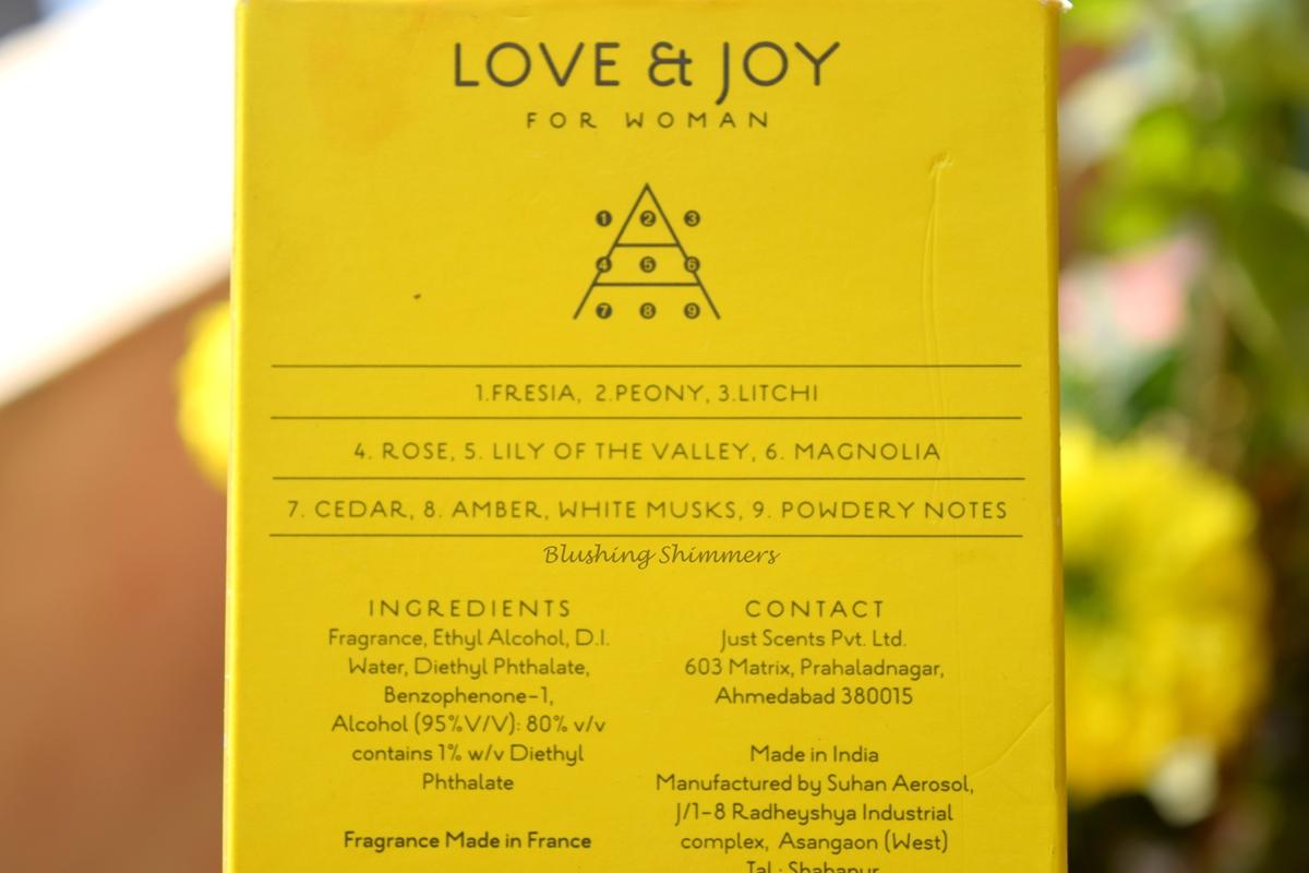 All Good Scents Love & Joy EDP