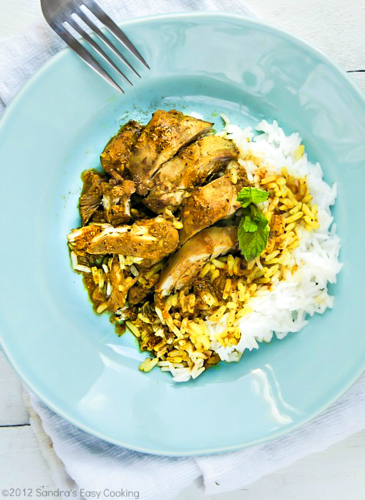 how to cook curry chicken and rice