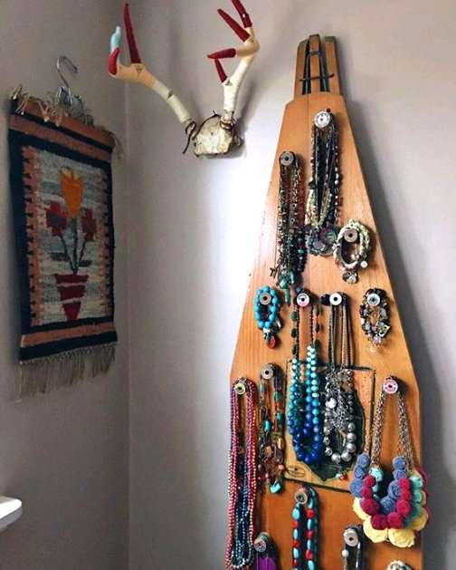 Dishfunctional Designs Upcycled Ironing Boards New Uses