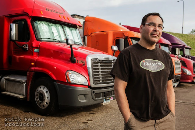 John - Over the Road Truck Driver - Stick People Productions Photography