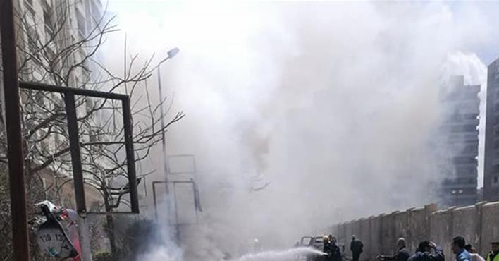 سقوط ضحايا ومصابين في إنفجار ضخم داخل العاصمة الإدارية الجديدة