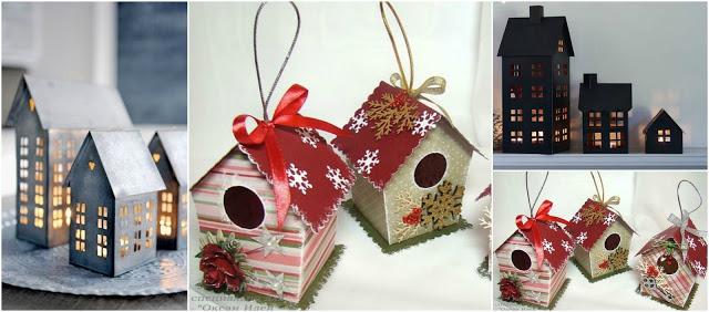 casitas-cartón-navidad