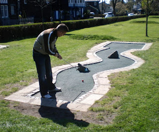 Crazy Golf at White Platts Recreation Ground in Ambleside